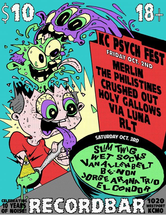 KC Psych Fest 2015 @recordBar