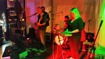 The Tambourine Club @ Outer Reaches 2016. Photo courtesy of Haymaker Records